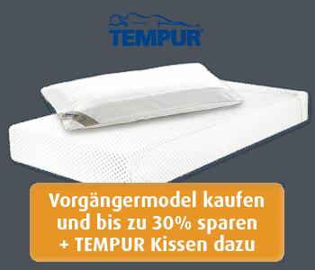 Angebot Tempur Matratze Original 21 und Tempur Kissen Breeze