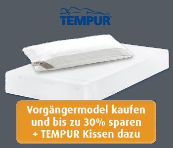 Angebot Tempur Matratze Sensation 21 und Tempur Kissen Breeze