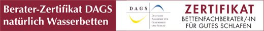 Berater-Zertifikat DAGS Banner