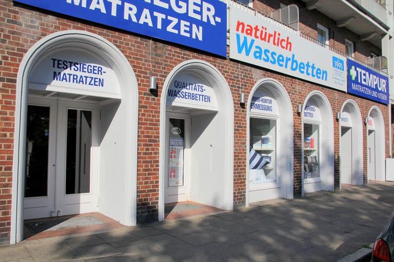 Gesunde Matratzen Filiale Hamburg Impressionen Abbildung 01