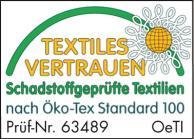 Textiles Vertrauen - geprüft auf Schadstoffe