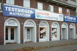 Gesunde Matratzen Filiale Hamburg Foto