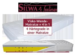 Silwa 4 feelings Matratze Abbildung