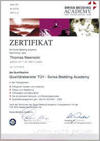 zertifikate schlafberater - Silwa Pro Federleistenrahmen