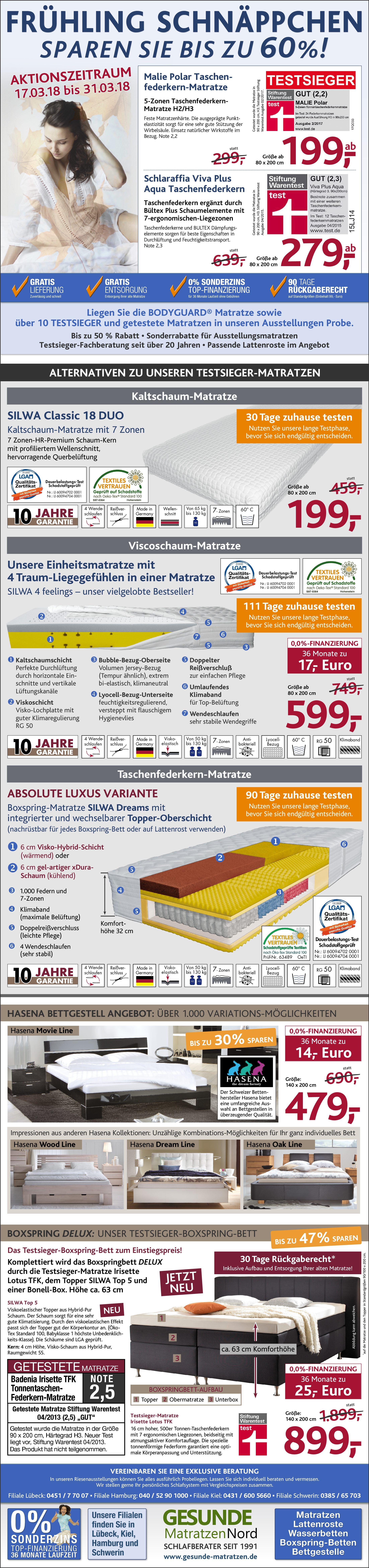 aktionstage herbst schnaeppchen matratzen pdf 11 - Aktionstage