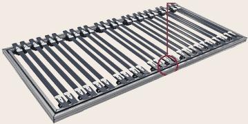 alu - Federleisten-Rahmen