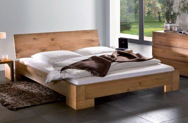 Betten Ratgeber Unterschied Massivholzbett