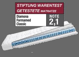 Diamona Komfortschaummatratze Formamed Classic, Abverkauf Neuware