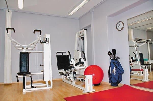 Sasche Knappe Physiotherapie Raum Foto