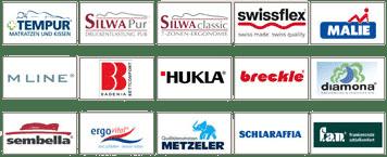 Matratzen Marken Logos