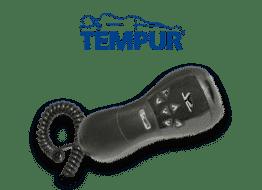 Tempur Systemrahmenzubehör Kabelhandschalter Abbildung