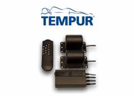 Tempur Systemrahmenzubehoer Massagemotoren VRT/6 Abbildung