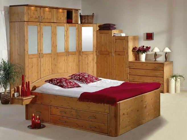 Jabo Massivholzbetten Schlafzimmer Abbildung