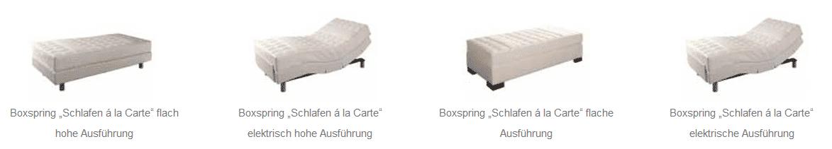 kreamat ausstattung - Boxspringbetten Kreamat