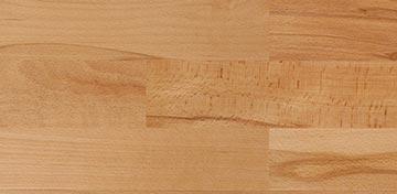 Novo Massivholzbetten Oberfläche Buche natur geölt Abbildung
