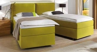 Boxspringbett Basic teilbar