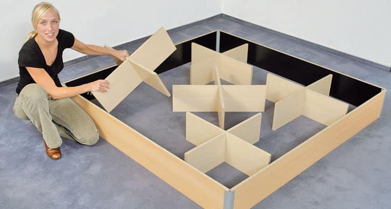 unterbauten1 - Prestige Comfort Wasserbett