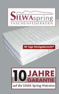 variante spring matratze 188x300 - SILWA Relaxe: Komfortliege spezial