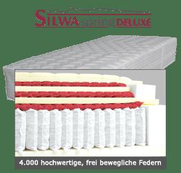 Silwa Spring Deluxe Boxpspringmatratze 4000 Federn