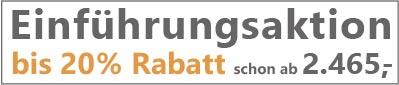 Boxspringbett Silwa Ergo-Boxspring Einführungsaktion