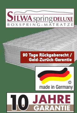 variante 1 silwa spring deluxe - Boxspringbett SILWA Deluxe