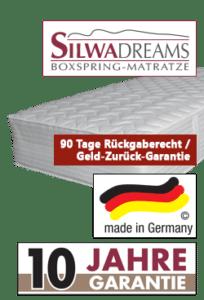 variante 4 silwa dreams boxspring matratze 204x300 - SILWA Relaxe: Komfortliege spezial