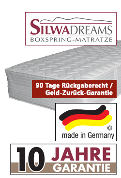 boxspringbett silwa deluxe filialen in hamburg kiel l beck schwerin. Black Bedroom Furniture Sets. Home Design Ideas