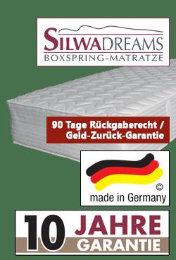 Variante Silwa Dreams Boxspringmatratze