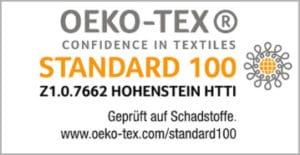 Oeko tex Standard 100 Badenia Irisette Dreams