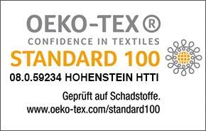 Oeko tex 100 Bubble-Bezug