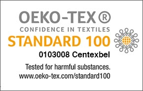 Oeko tex 100 Doppeltuch-Bezug