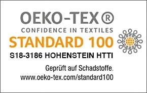 Oeko-tex Standard 100 S18-3186 Hohenstein HTTI
