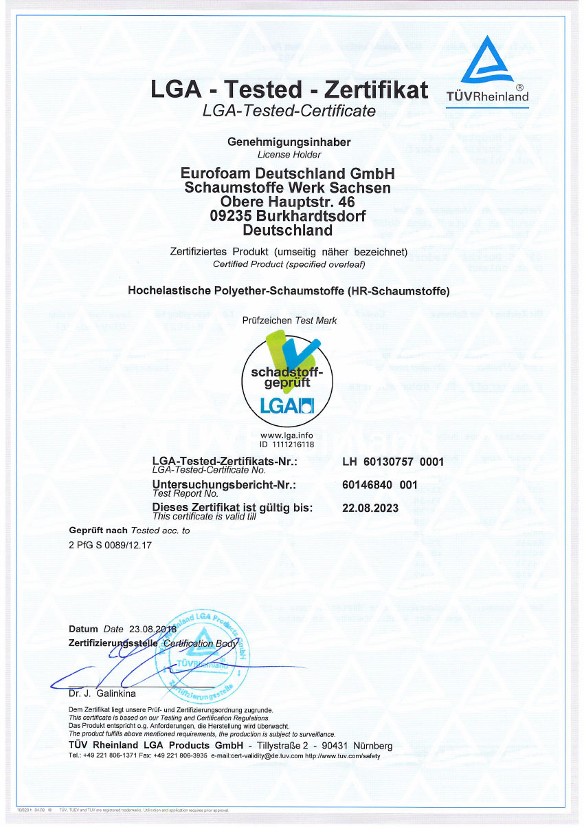 LH 60130757 001 LGA schadstoffgeprueft HR - Silwa Zertifikate
