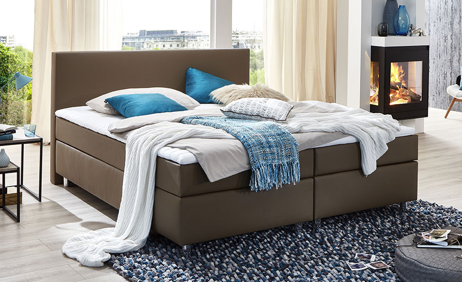 Boxspringbett Silwa Smart