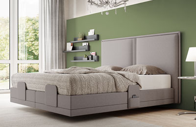 Swissflex Premium beds grau